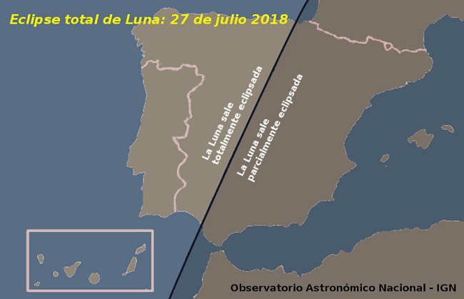 Mapa eclipse 2018